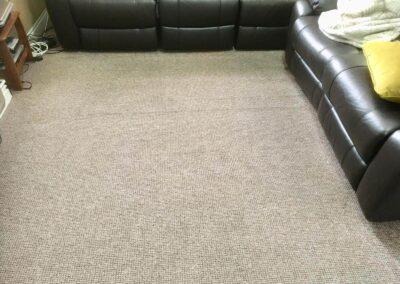 After carpet sanitising